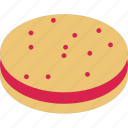 biscuit, cookie, cracker, dessert icon