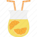 cocktail, drink, juice, orange icon