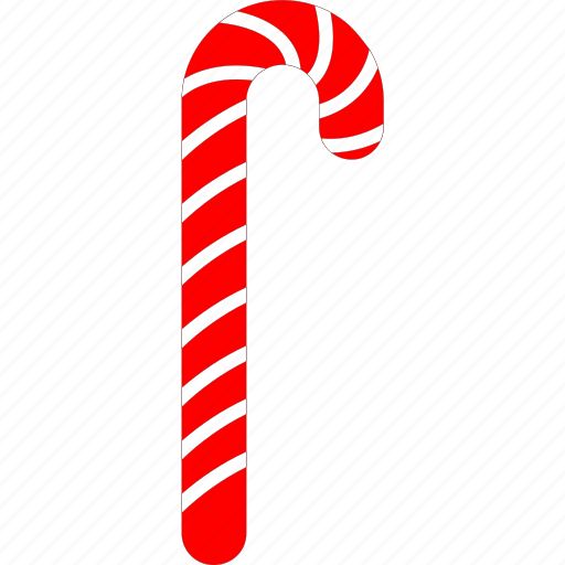 candy cane, candy stick, christmas sweets, treat icon
