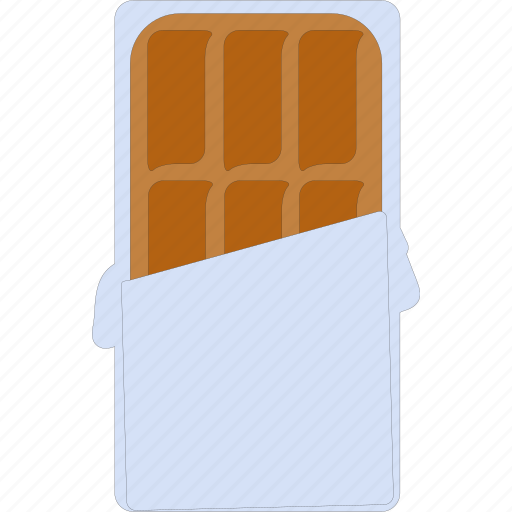 chocolate, chocolate bar, snack, sweet icon