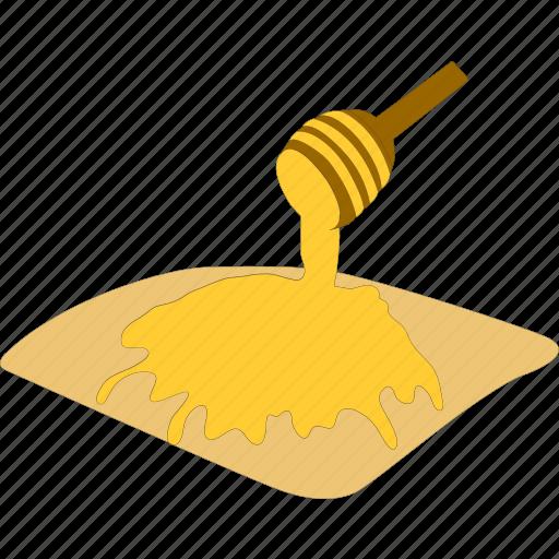 honey, pancakes, sweet, syrup icon