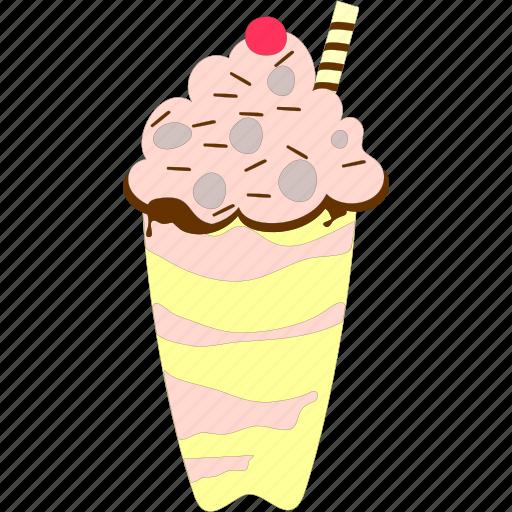 cream, creamy, creamy dessert, pudding icon
