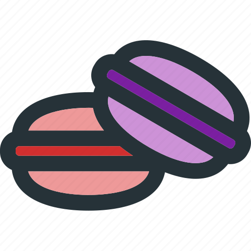 Macaroons, bakery, cream, desert, dessert, macaron, sweet icon - Download on Iconfinder