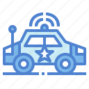 car, emergency, police, security, transport