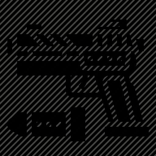 firearm, handgun, pistol, police, weapon icon