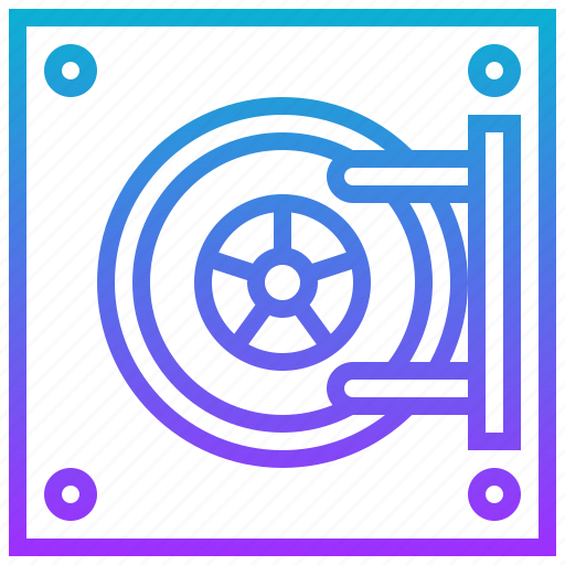 bank, door, safe, secure, vault icon