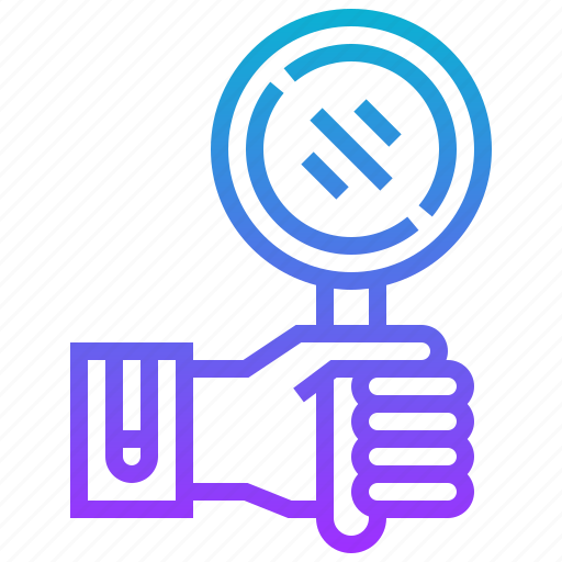 detective, device, magnifying, science, search icon