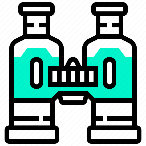 binoculars, device, distance, filed, glasses icon