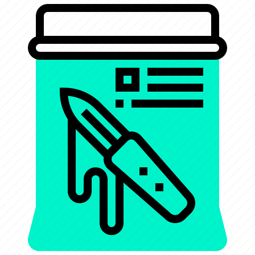 document, evidence, law, proof, rule icon