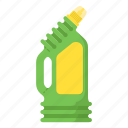 bottle, cleaner, cleaning, detergent icon