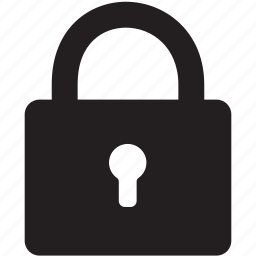lock, locked, login, open, padlock, password, privacy, private, protect, protection, safe, safety, secure, security, shield, unlock icon