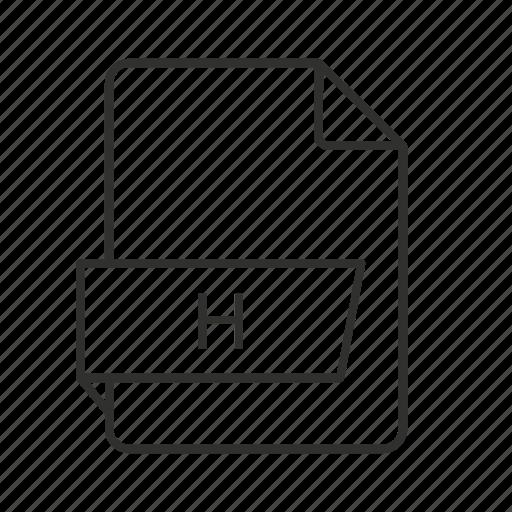 .h, .h file, .h icon, c/c++/objective-c header, c/c++/objective-c header file, h file, h icon icon