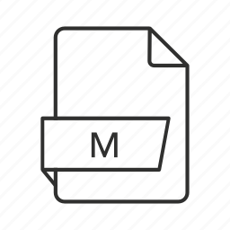 .m, .m file, .m icon, m, m file, objective-c implementation, objective-c implementation file icon
