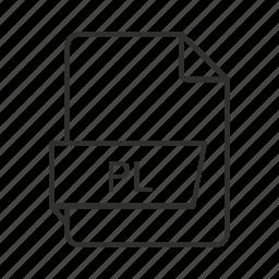 .pl, perl, perl script, perl script file, pl, pl file, script icon