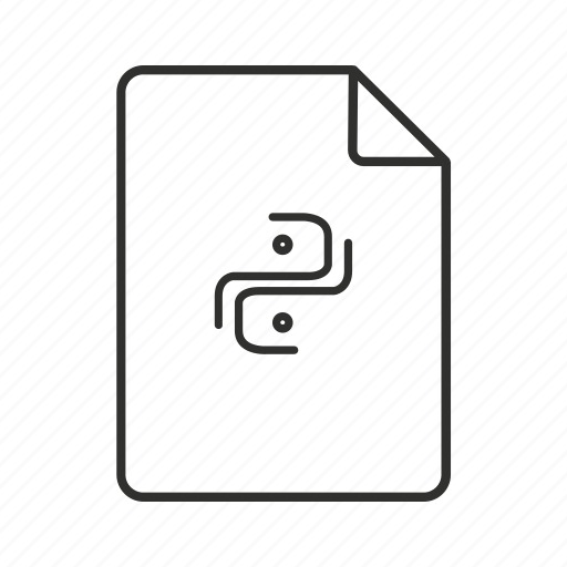 .py, .py file, py, python, python file, python script, script icon