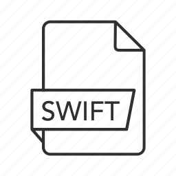 source code, swift, swift file, swift icon, swift source code, swift source code file icon