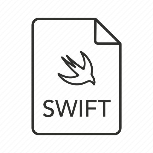 code, source code, swift, swift file, swift icon, swift source code, swift source code file icon