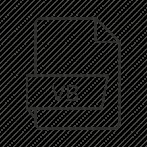 .vb file, .vb icon, vb file, vb icon, visual basic project, visual basic project item, visual basic project item file icon