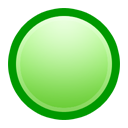 ball, green icon