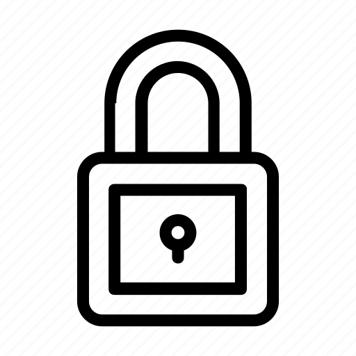 lock, protect, secure, security icon