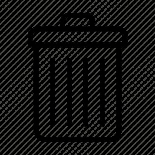 basket, bin, delete, dust icon