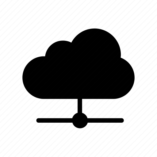 cloud, computing, share, storage icon