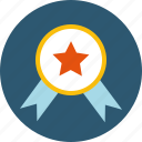 achieve, achivement, certified, grant, medal, motivation, quality, reward, success, trendy, winner icon