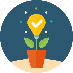 advice, concept, idea, implementation, project, realization, release, startup, strategy icon