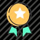 award, badge, honor, medal, prize, victory