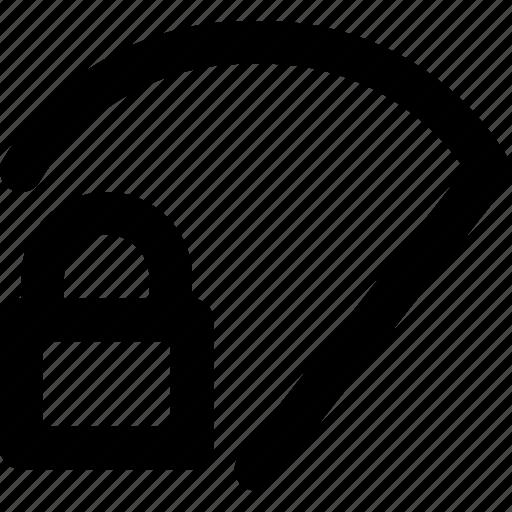 app, interface, lock, ui, web, wifi icon