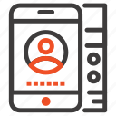 cell, lmobile, phone, service icon