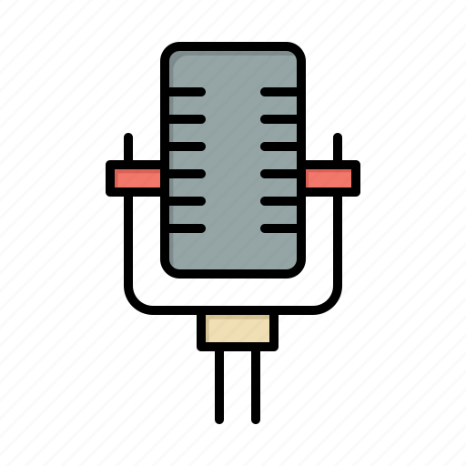 microphone, multimedia, record, song icon
