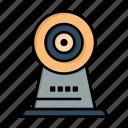 camera, hotel, security, webcam icon