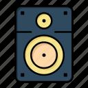 education, loud, music, speaker