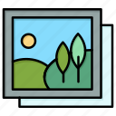 frame, gallery, image, picture icon