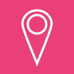 address, find, gps, locator, navigate, navigation, pointer icon