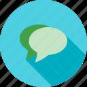 sms, communicate, conversation, contact, chat, message bubbles, talk