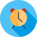 alarm, alarm clock, alert, notification, reminder, ring, time icon
