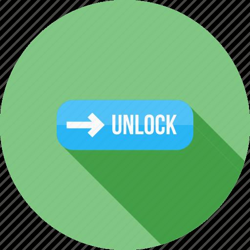 device, locked, secure, slider, smartphone, technology, unlock icon