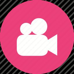 camera, film, movie, picture, record, video icon