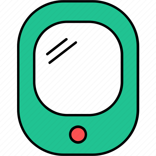 cell, device, mobile, phone, smartphone, touchscreen, video game icon
