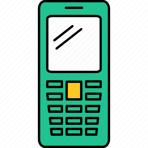 Call, cell, contact, device, mobile, phone icon - Download on Iconfinder