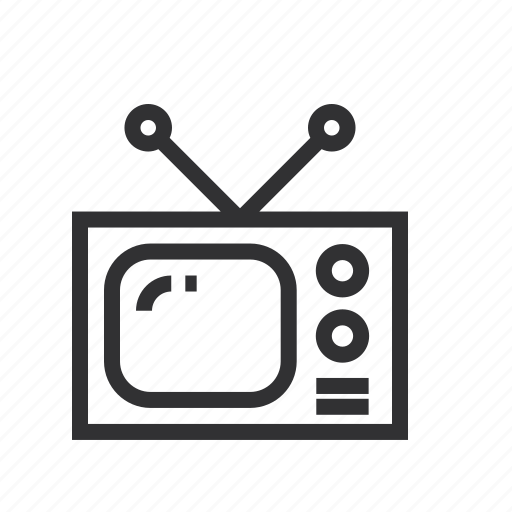 appliances, device, electronic, mobile, television icon