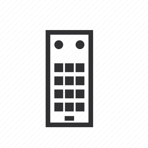 appliances, device, electronic, mobile, remote, television icon