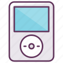 audio, device, electronics, ipod, music, play, volume icon