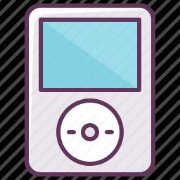 audio, device, electronics, ipod, music, play, volume icon