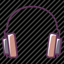 audio, device, electronics, headphones, music, play, sound icon