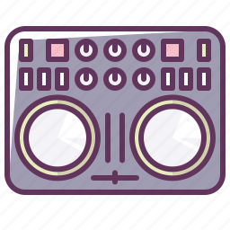 device, disco, dj, music, sound, technology, volume icon