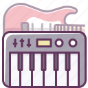 audio, electronics, guitar, music, piano, sound, volume icon