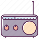 appliance, audio, device, music, radio, sound, volume icon